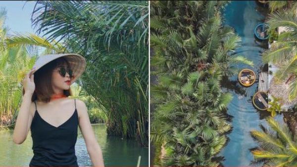 Không cần chen chúc ở phố cổ nữa, bởi rừng dừa này đang là điểm check in 'sống ảo' hot nhất Hội An năm nay!