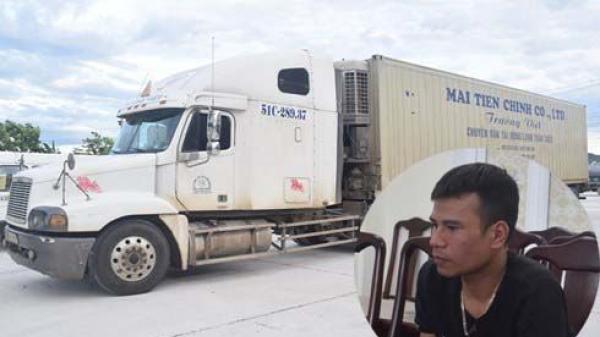 """TT-Huế: Bắt giữ tài xế """"phê"""" m.a t.úy điều khiển container từ Bắc vào Nam"""