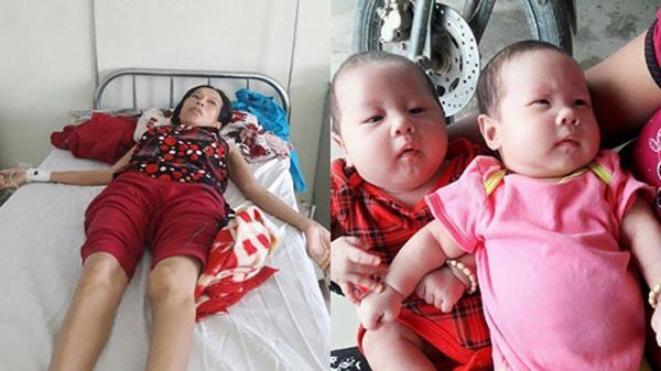 Người mẹ cố gắng thụ tinh nhân tạo mang thai đôi thì bị ung thư: 'Xin cho tôi sống thêm chút nữa với con'