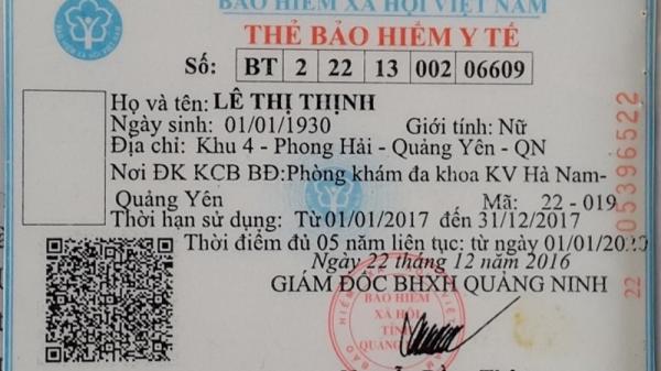 Quảng Ninh: Thừa dấu nặng không được thanh toán bảo hiểm y tế