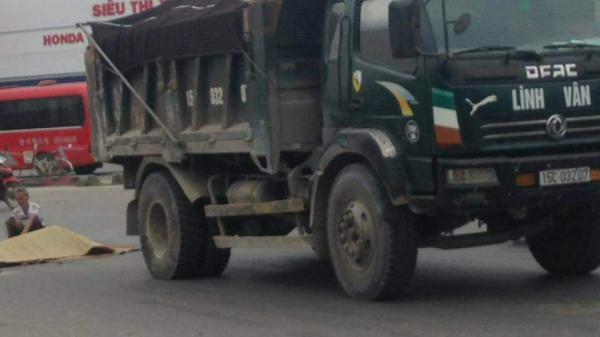 Va chạm với xe tải, một người đàn ông tử vong tại chỗ trên tuyến Quảng Ninh - Hải Phòng