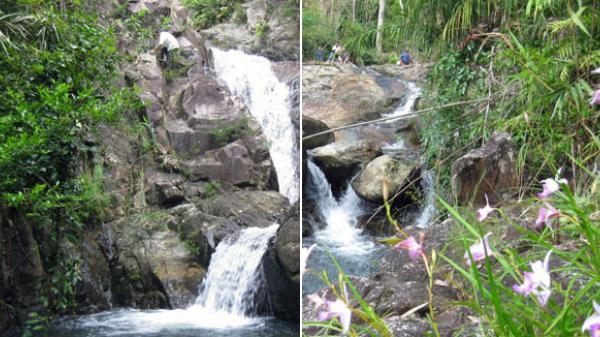 Khám phá thác Pạc Sủi 16 tầng ở Tiên Yên