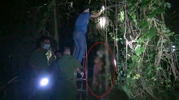 Đi bẫy chim, người dân hốt hoảng phát hiện xác nam giới chết khô trên cây