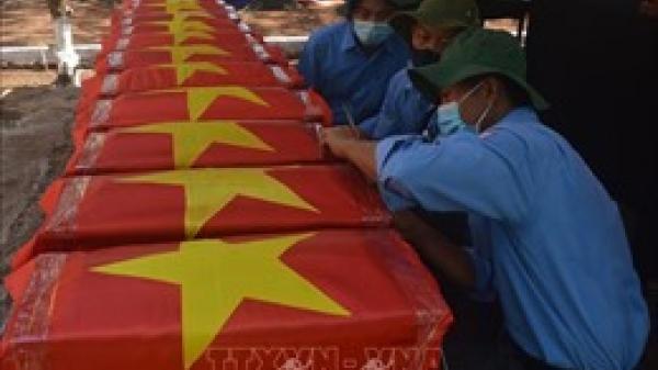 Quảng Trị: Đã cất bốc 40 hài cốt liệt sỹ ở chiến khu Ba Lòng