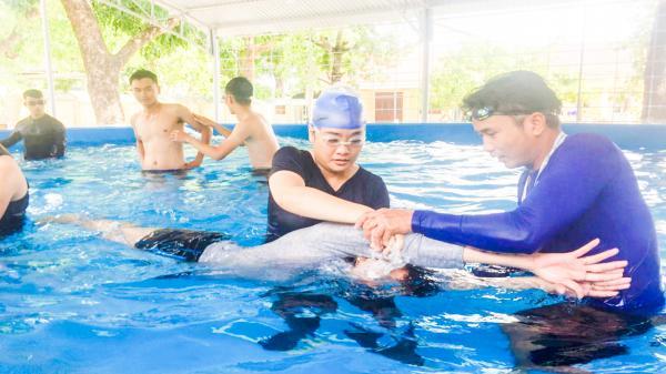Quảng Trị: Lắp đặt 17 bể bơi theo hình thức xã hội hóa