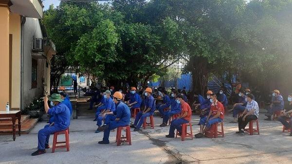 Quảng Trị: Gần 4.000 công nhân được khám sàng lọc SARS-COV-2