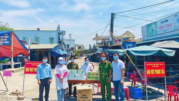 Muôn tấm lòng góp sức chống dịch của người dân Quảng Trị