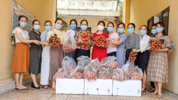 Phụ nữ Quảng Trị hỗ trợ Bắc Giang tiêu thụ vải thiều