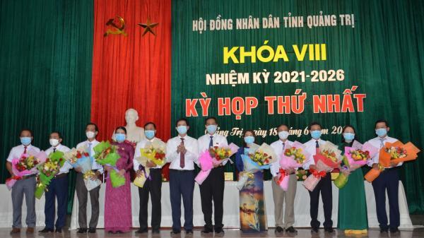 Kỳ họp thứ nhất, HĐND tỉnh khóa VIII, nhiệm kỳ 2021 - 2026: Hoàn thành bầu các chức danh HĐND, UBND tỉnh