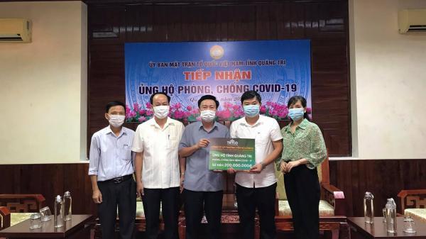 Quảng Trị tiếp nhận 2,8 tỉ đồng ủng hộ quỹ phòng, chống COVID-19