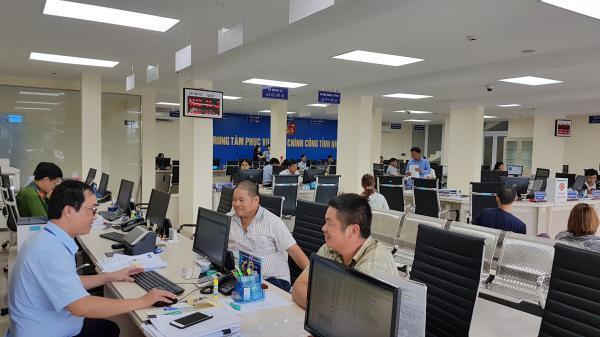 Ngày 1/8/2021, bắt đầu thu phí, lệ phí tại Trung tâm Phục vụ hành chính công tỉnh bằng mã thanh toán QR code