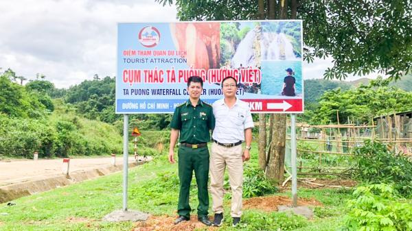 Lắp đặt sơ đồ và biển chỉ dẫn các điểm du lịch trên đường Hồ Chí Minh nhánh Tây
