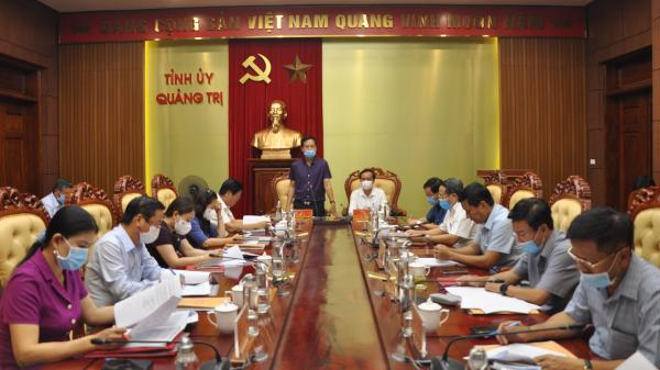 Ban Thường vụ Tỉnh ủy Quảng Trị chỉ đạo một số dự án đầu tư trọng điểm