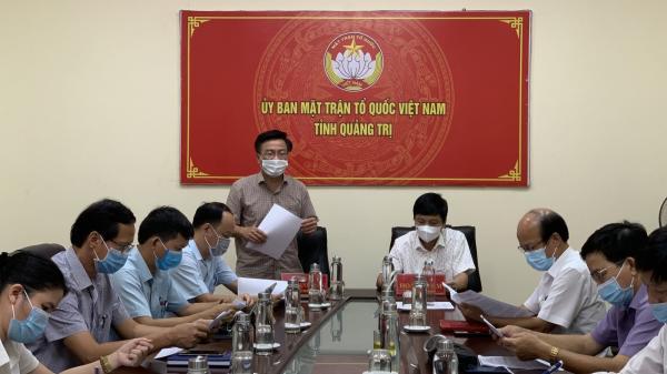 UBMTTQVN tỉnh họp phát động đợt cao điểm vận động, hỗ trợ người dân Quảng Trị tại thành phố Hồ Chí Minh và các tỉnh lân cận