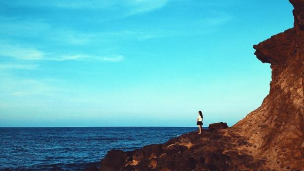 Mũi Trèo đẹp lung linh qua chuyến du lịch của cô nàng sinh viên Quảng Trị