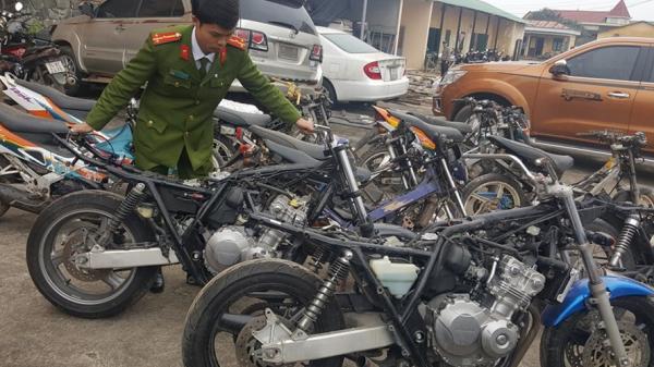 Quảng Trị phát hiện kho chứa nhiều xe môtô phân khối lớn không có giấy tờ hợp pháp