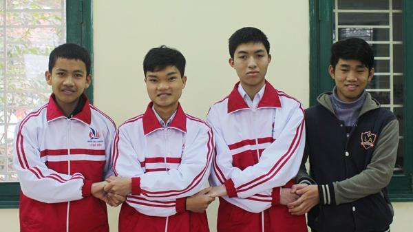 Lần đầu tiên Quảng Trị có 4 học sinh vào vòng chọn đội tuyển quốc gia dự thi quốc tế