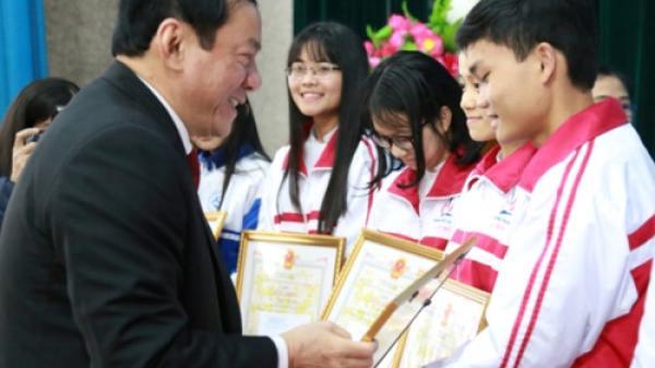 Quảng Trị: Tuyên dương học sinh giỏi Quốc gia năm 2018