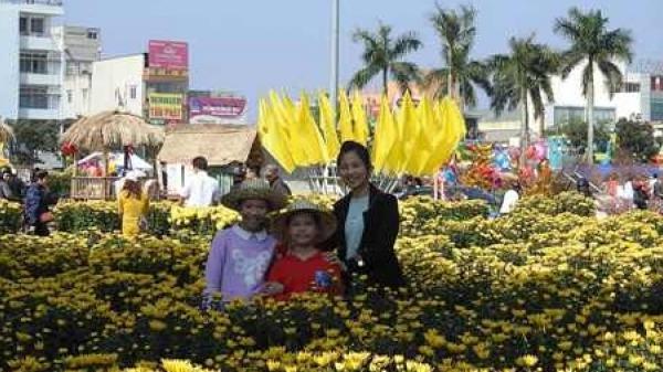 Hoa Tết tràn ngập ở Quảng Trị