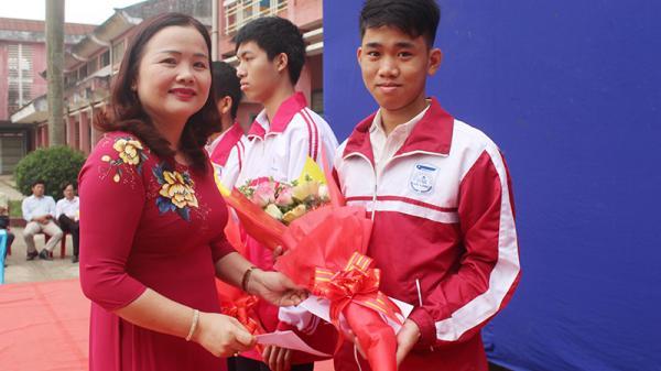 Một học sinh Quảng Trị được vào đội tuyển quốc gia dự thi Olympic Tin học châu Á