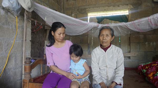 Gia đình nhỏ bất hạnh ở Gio Linh, Quảng Trị