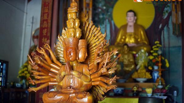 Ngôi chùa Quảng Trị nằm bên phế tích Chăm cổ hiếm có ở Việt Nam