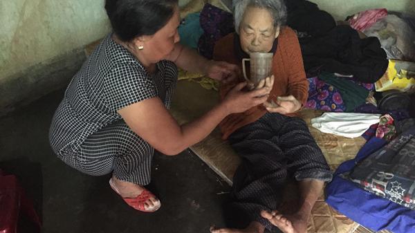 Hoàn cảnh đáng thương của hai chị em cụ bà ở Cam Lộ