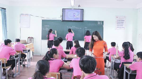 Dạy toán bằng Tiếng Anh ở Trường Trưng Vương