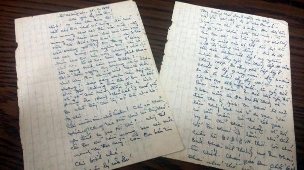Lá thư từ Trường Sơn của nữ liệt sĩ gửi chị