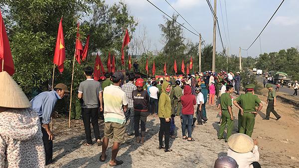 Kịp thời thiết lập lại trật tự trị an ở thôn Đông Luật, xã Vĩnh Thái