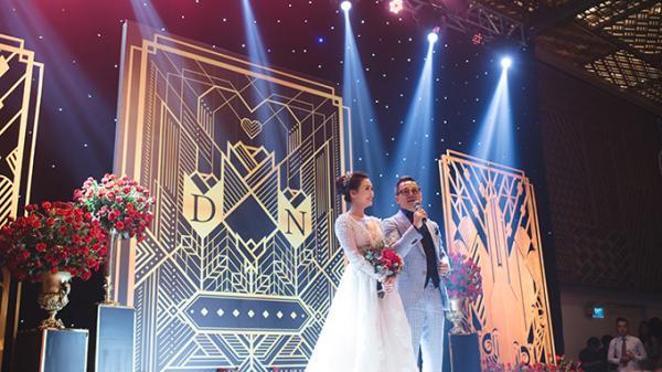 Đám cưới Gatsby với 12.000 bông hồng đỏ của Top 6 Hoa khôi áo dài người Quảng Trị