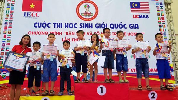 """Học sinh Quảng Trị đạt giải cao trong cuộc thi học sinh giỏi quốc gia """"Bàn tính và số học trí tuệ UCMAS"""" lần thứ 9"""