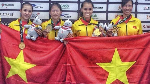 Quá khứ làm phụ hồ của nữ vận động viên rowing người Quảng Trị vừa trở thành nhà vô địch ASIAD 2018