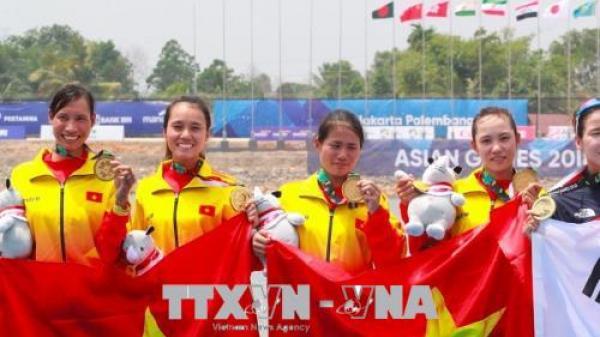 ASIAD 2018: Thêm một Vận động viên Quảng Trị mang về HCB môn rowing