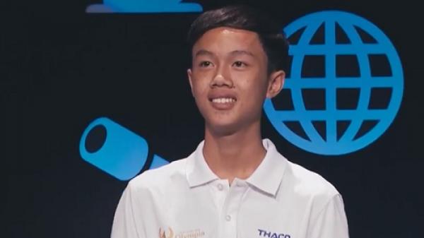 Nam sinh Quảng Trị giành vé cuối cùng vào chung kết Olympia 18