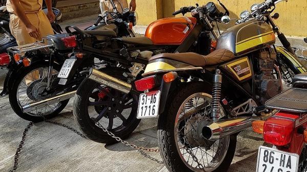 Bắt nhiều mô tô không nguồn gốc đang được đưa từ Quảng Trị vào TP.HCM