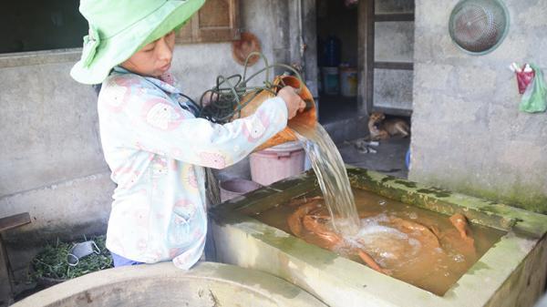 """Người dân xã Triệu Đông """"khát"""" nước sạch"""