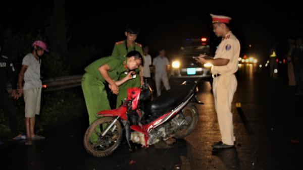 Quảng Trị: Nam thanh niên tử vong nghi tông trúng gia súc băng qua đường