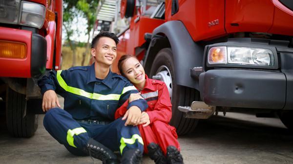 Lính cứu hoả nữ đầu tiên ở Quảng Trị và chuyện tình 114 có hậu