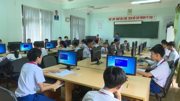 Cam Lộ: Hơn 300 học sinh tham gia kỳ thi học sinh giỏi