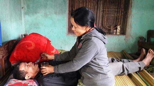 Gia cảnh khốn khó của người phụ nữ ở Triệu Phong