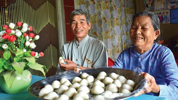 Dẻo thơm món bánh ngày tết của người Quảng Trị