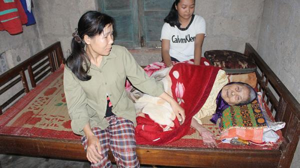 Bệnh tật bủa vây trong căn nhà nhỏ ở Triệu Phong