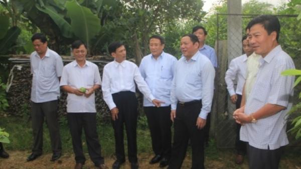 Xây dựng Cam Lộ trở thành huyện nông thôn mới đầu tiên của Quảng Trị