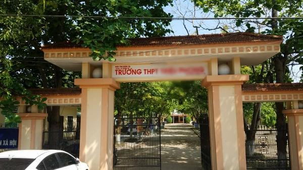 4 nam sinh trong nghi án h iếp d âm tập thể nữ sinh ở Quảng Trị trở lại trường học