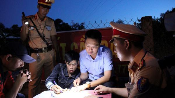 Quảng Trị: 'Phê' m a t úy còn chạy rông, bị CSGT tóm cổ