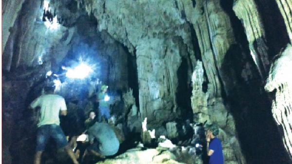 Phát hiện một chuỗi hệ thống hang động mới tại Hướng Hóa