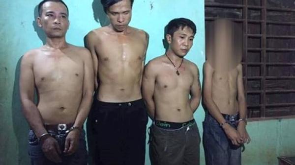 Thiếu niên 14 tuổi ở Quảng Trị bị b ắt khi cùng đàn anh tàng tr.ữ m a t úy