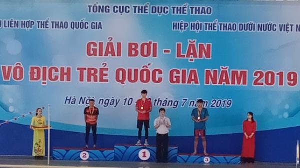 Đội tuyển Bơi - Lặn Quảng Bình giành được 20 Huy chương tại Giải Vô địch trẻ Quốc gia năm 2019