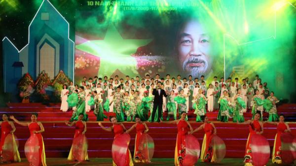 Đông Hà kỷ niệm 10 năm thành lập thành phố
